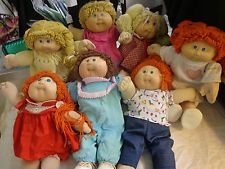 7 Vintage Xavier Roberts Cabbage Patch Kids Signed! Need cleaned AS IS Estate #2