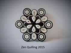 2015 brooches - my own original designs - Facebook.com/Zen Quilling