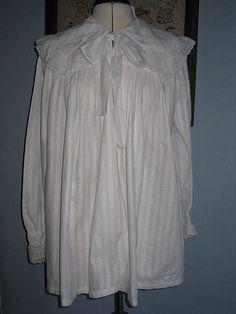 Edwardian Dressing Bed Jacket Full Length Front