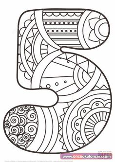 Zentangle Numbers Coloring pages. Select from 31983 printable Coloring pages of cartoons, animals, nature, Bible and many more. Star Coloring Pages, Free Printable Coloring Pages, Coloring Pages For Kids, Coloring Sheets, Coloring Books, Colouring, Printable Numbers, Printable Crafts, Niklas