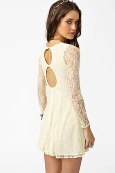 Even though these dresses look nice, you know that you have to wear a backless bra, and so it just ruins the thought of wearing it.