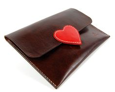 Leather Clutch Evening Bag Leather Purse Evening by RitsandRits