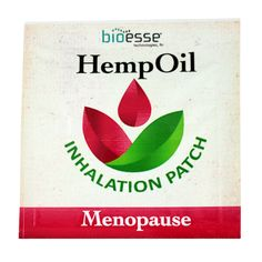 Menopause Hemp Inhalation Patch by BIOESSE TECHNOLOGIES - An innovative patch that delivers the benefits of essential oils and aromatherapy. The Menopause Hemp Inhalation Patch targets women's health with a proprietary blend of hemp oil and essential oils.