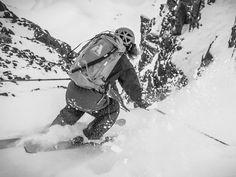 Sending #earnyourturns #skiing #coulier #mountaincultureelevated #banffnationalpark #skitouring #ski by tim_binks