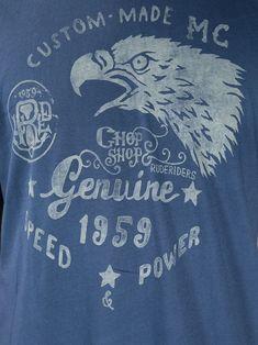 Rude Riders Printed T-shirt - - Farfetch.com