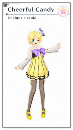 「チアフルキャンディ」デザイン:nezuki