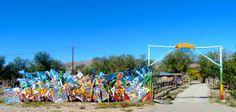 Graffiti studio, Turquoise Trail NM
