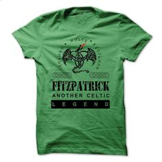 FITZPATRICK Another Celtic Legend. - #under armour hoodie #sweater outfits. GET YOURS => https://www.sunfrog.com/Names/FITZPATRICK-Another-Celtic-Legend-29763887-Guys.html?68278