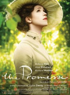 A Promise, the upcoming period drama movie directed by French Filmmaker Patrice Leconte ... starring Alan Rickman