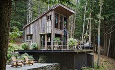 Cabane dans les bois à Yulan, NY - Journal du Design