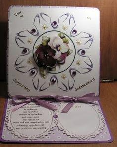Marleen´s Kaartenhoek: bloemen voor een verjaardag