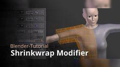 Blender-Tutorial - Shrinkwrap Modifier - YouTube Blender 3d, Blender Models, Blender Tutorial, 3d Software, Modeling Tips, 3d Tutorial, Game Engine, Motion Design, Zbrush