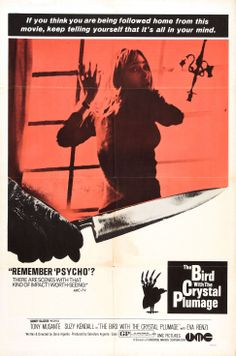 The Bird With The Crystal Plumage - 1970