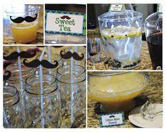 mustache birthday party