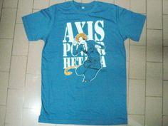 Axis Power Hetalia No.4 Italy T shirt Manga/Anime