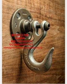 Quality Vintage Heavy Industrial Loft Pipe Wall Hook Interior Decor Bathroom Decor Steampunk Decor Wall Hook Hat Rack Holder Coat Hanger with free worldwide shipping on AliExpress Mobile Pipe Furniture, Industrial Furniture, Furniture Ideas, Furniture Chairs, Furniture Design, Furniture Stores, Garden Furniture, Man Cave Furniture, System Furniture