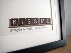 """""""Can't Find the Words"""" print. Love the use of Scrabble tiles! (From: One Reverie on Etsy)"""