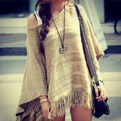 Sweater Poncho ♥