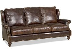 Bradington Young Living Room Stationary Sofa 8-Way Tie 667-95 - Walter E. Smithe - 10 Chicagoland locations in Illinois and Merrillville, Indiana. Starting at 2389.00.