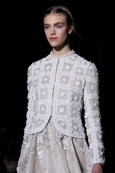 #Valentino Spring 2013 Couture Collection #Evening Jacket