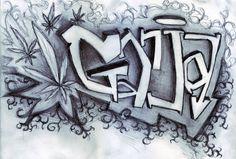 Ganja graffiti