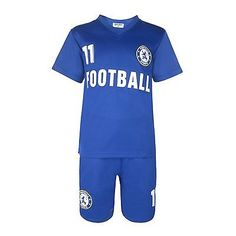 Boys #football kit #short set royal blue 2-10years bnwt ##chelsea,  View more on the LINK: 	http://www.zeppy.io/product/gb/2/271164889016/