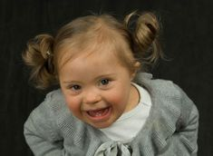 Ninety percent of all babies with Down Syndrome are aborted. One reason this statistic is so high is because of the medical community's negative spin on down syndrome. Precious Children, Beautiful Children, Beautiful Babies, Little Babies, Cute Babies, Baby Kids, Special Kids, Special People, Bebe Down