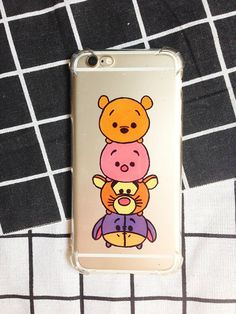 Hand painted Tsum Tsum phone case iPhone 8 caseiPhone 7