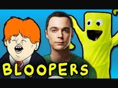 BLOOPERS - 50 YouTube Spoilers in 4 Minutes (Nov 2012)