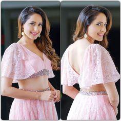 Actress Pragya Jaiswal Latest Cute Pics In Pink Long Dress Bollywood Bikini, Bollywood Actress Hot, Bollywood Girls, Bollywood Saree, Beautiful Saree, Beautiful Indian Actress, Beautiful Actresses, Beautiful Women, Indian Bridesmaids