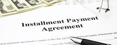 Installment agreement is the end result of properly presenting a taxpayer's financial condition and negotiating an acceptable monthly payment. Tax Lawyer, Tax Debt, Helping People, How To Get, Small Businesses, Pride, Track, Success, Advice