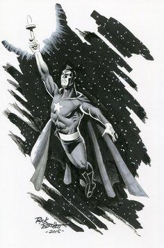 Starman by Rick Burchett