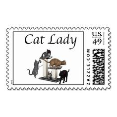 Cat Lady Postage Stamp This site is will advise you where to buyThis Deals          Cat Lady Postage Stamp lowest price Fast Shipping and save your money Now!!...