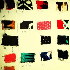 Picking fabrics