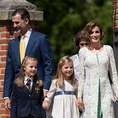 Koning Felipe VI en Koningin Letizia van Spanje