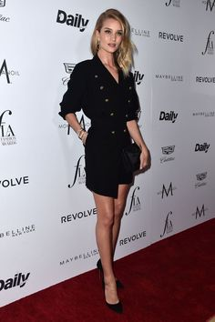 Rosie Huntington-Whiteley in Alexandre Vauthier Rose Huntington, Rosie Alice Huntington Whiteley, Navy Tuxedos, Fashion Agency, Daily Front Row, Cool Coats, Chic Outfits, Black Outfits, Work Outfits