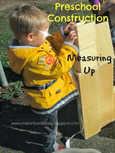 For the Children: Preschool Construction: Measuring Up