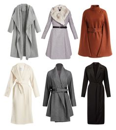 """""""soft classic coats"""" by ania-personal-stylist on Polyvore featuring MaxMara, Ted Baker, Chicwish and Miss Selfridge"""