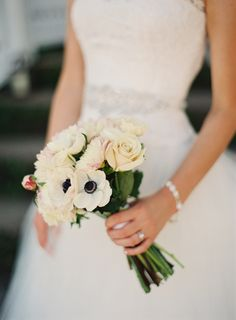 Photography : Loren Routhier | Wedding Gown : Theia Couture Read More on SMP…