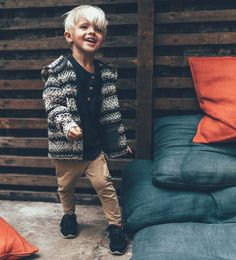 Striped hooded cardigan-SWEATERS AND CARDIGANS-Baby boy-Baby | 3 months - 3 years-KIDS | ZARA United States