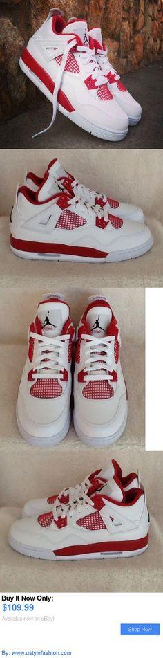 Children boys clothing shoes and accessories: Nike Air Jordan 4 Alternate 89 Retro Bg 6.5Y (Youth) 408452 106 BUY IT NOW ONLY: $109.99 #ustylefashionChildrenboysclothingshoesandaccessories OR #ustylefashion