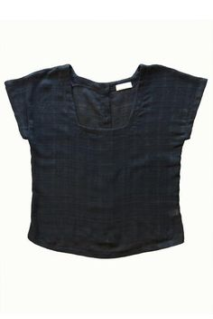 ec090ede3382a2 Square Neck Button Back Top · Hourglass Boutique · Cute Tops · Making  Perfect Shirt