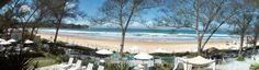 Vista panorâmica Praia de Geribá, Búzios.