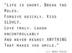 life is short live it like u die tomorrow