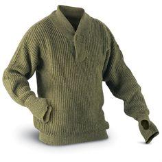Used Norwegian Military Surplus Wool Sweater