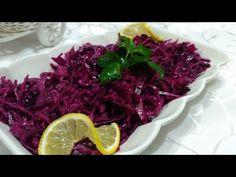 Lokanta Usulu Mor Lahana Salatası-Lezzetli Tarifler.    Lokantada acaba bu mor lahana salatasını nasıl yapıyorlar dediğiniz oldu mu?Cevabınız evetse lokanta usulu mor lahana salatası tarifi tam size göre.  Malzemeler -1 mor lahana -1 tatlı kaşığı kaşığı tuz -1 limon -Yarım çay bardağı üzüm sirkesi