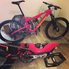 Santa Cruz Bronsoncc new bike day.