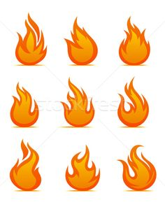 Fire warning symbols stock photo (c) anbuch ( Dragon Ball Z, Fire Drawing, Drawing Tips, Gangster Tattoos, Flame Art, Phoenix Bird, Star Wars Tattoo, Card Templates, Symbols