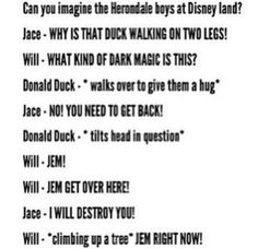 Jace and his great, great, great grandfather Will at Disneyland! Haha! I love it! #TMI #TID