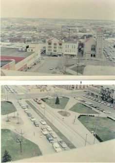 Downtown 1968-1969 Mansfield, OH
